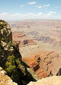 Mather View overlook of the widest point at the Grand Canyon