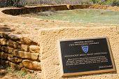 historic Native American indian reservoir ruins