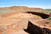 Wupatki National Monument ball court ruins