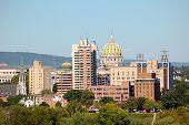 stock photo of dauphin  - Harrisburg skyline - JPG