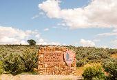 Signo de monumento nacional Hovenweep