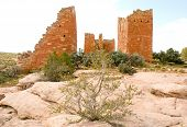 Ruinas indios nativos americanos Hovenweep N.m.