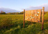 Nisqually National Wildlife Refuge  sign