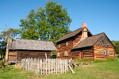 Zebulon Vance Birthplace State Historic Site farm