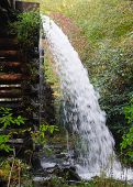 Mingus Mill water ditch spilling