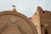 historic spanish mission ruins at Tumac�¡cori National Historical Park