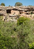 Montezuma Well National Monument native american indian ruins