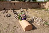 Tumacacori National Historical Park spanish mission ruins and graves
