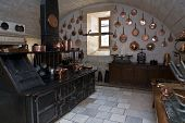 Kitchen In The Castle Of Chenonceau