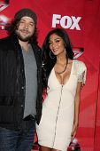 LOS ANGELES - DEC 19:  Josh Krajcik, Nicole Scherzinger at the FOX's