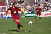 Tomsk, Russland 20. September: Fußballspiel Meisterschaft von Russland unter tom'(tomsk) Rubin (Kazan