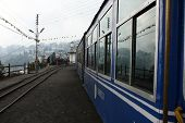 DARJEELING, INDIA - DECEMBER 3: The Darjeeling Himalayan Railway, nicknamed the