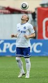 MOSCOW - MAY 15: Dinamo forward Andrei Voronin in a game of the 11th round of Russian Football Premi