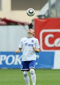 MOSCOW - MAY 15: Dinamo's forward Andrei Voronin in a game of the 11th round of Russian Football Pre