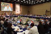Moscú - Julio 8:15 Conferencia CEMAT en Moscú (Conferencia del Consejo de Europa de Ministros t.