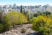 Cementerio en Jerusalén