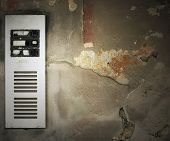 Old Intercom Background