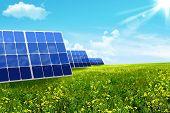 Energy. Solar Battery