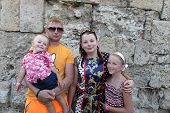 Family In Castle Of Rhodes
