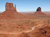 The Mittens, Monument Valley, Utah poster