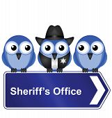 Sheriffs office sign