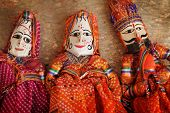Traditionnal Indian Puppets