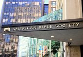 American Bible Society Sign and Entrance