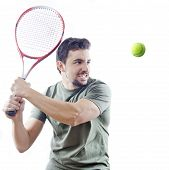 The Tennis Player With Knob