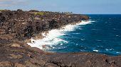 Hawaii Big Island Cliffs