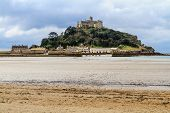 St. Michaels Mount In Cornwall, Uk