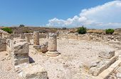 Ruins Of Ancient Town In Cyprus