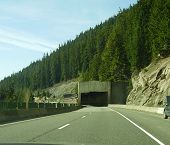 Tunnel In Washington State