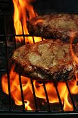 Barbeque-steaks