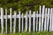 Historic Fence At Fort Ross State Historic Park