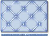 image of keepsake  - Tuck favorite photos and keepsakes under pastel blue satin ribbons on French style memory board - JPG