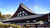 Temple in Higashiyama Temple Area, Hida, Takayama, Japan