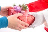 Ãœbergabe von Geschenken