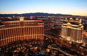 Bellagio And Caesar\'S Palace Casinos Las Vegas Nevada