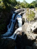 Waterfall at High Falls Gorge, Adirondacks, NY, USA