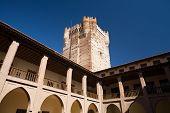 Castillo De La Mota patio