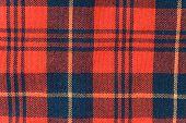 Tartan Fabric (As A Background)