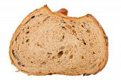 Slice Of Brown Seedy Bread