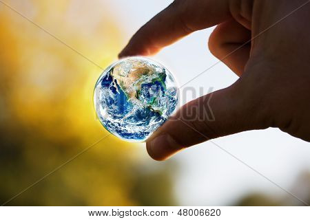Save Planet Concept poster