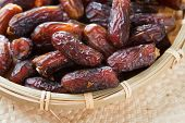 image of dry fruit  - Dates fruit - JPG