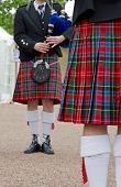 Kilt, tartan, Scottish musicians