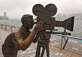 Bronze Cameraman