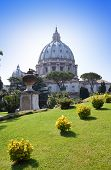 Italia. Roma. Vaticano. Basílica de San Pedro.
