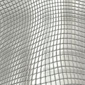 Metal silver checked pattern background