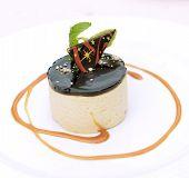 Tiramisu With Chocolate Icing