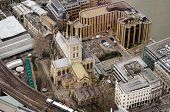 Aerial View of Southwark Cathedral